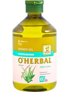 O'Herbal Gel dus hidratant cu extract de Aloe vera 500 ml