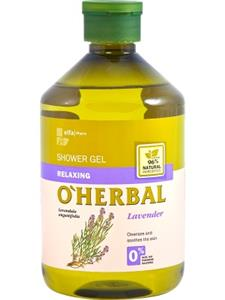 O'Herbal Gel dus relaxant cu extract de lavanda 500 ml