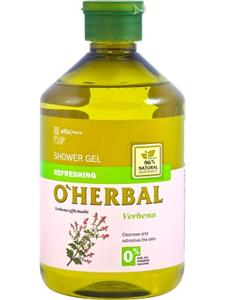 O'Herbal Gel dus revigorant  cu extract de Verbena 500 ml